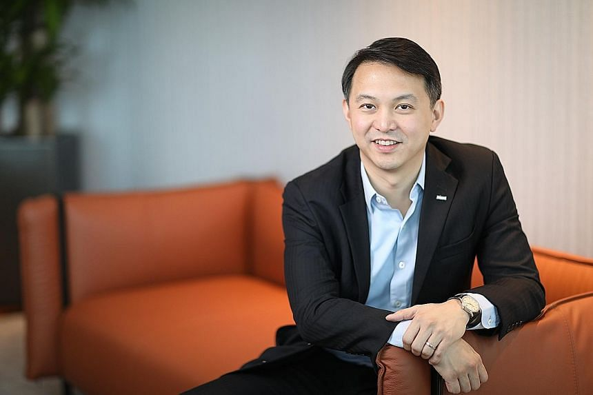 Keppel Reit Management chief executive Paul Tham has implemented key strategies to put Keppel Reit on a steady growth trajectory. These include portfolio optimisation so the Reit can achieve long-term sustainable returns, and boosting capital efficie