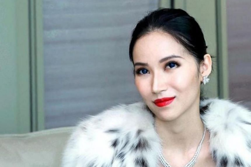 Ms Evangeline Shen, 32, is the co-founder of Singapore-registered Bellagraph Nova Group.