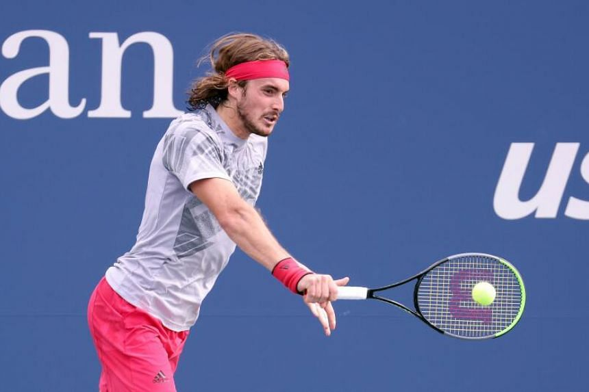 Tennis Dominant Tsitsipas Advances To Us Open Second Round Tennis News Top Stories The Straits Times