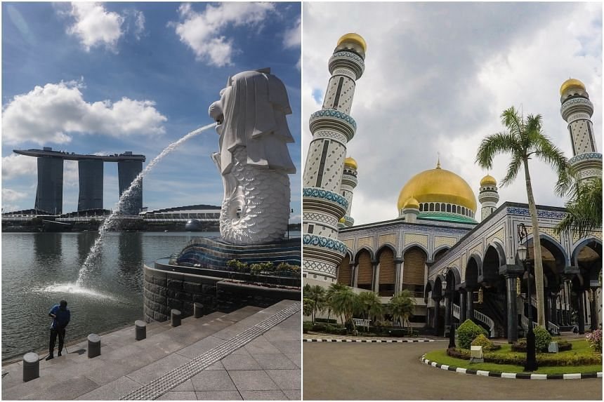 Those approved to travel from Singapore to Brunei must have remained in Singapore at least 14 days before departure.