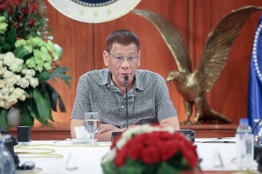President Rodrigo Duterte will not follow the US move to sanction the Chinese firms.