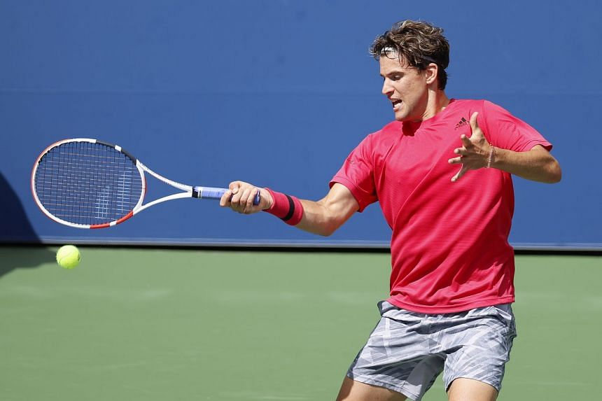 Thiem into US Open second round as Munar retires