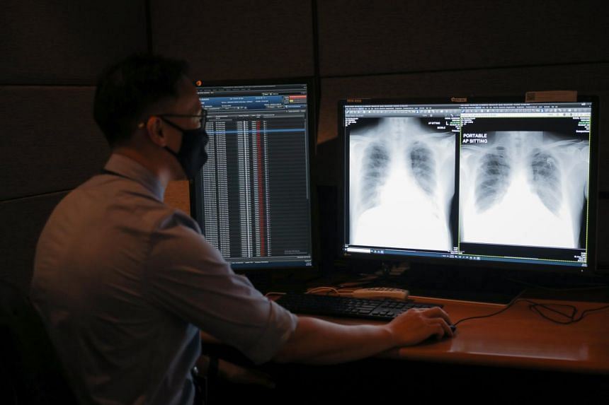 AI tool RadiLogic can analyse an X-ray image within three seconds and highlight abnormal chest X-rays on a computer quickly.
