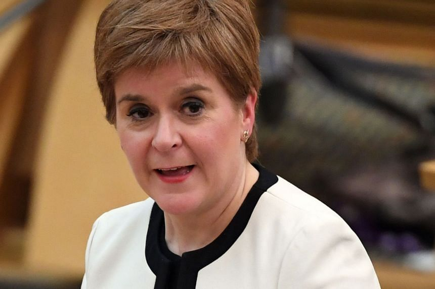 Nicola Sturgeon (above) put on hold plans for a second referendum in March 2020 to focus on the coronavirus crisis.