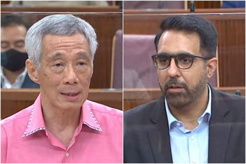 Prime Minister Lee Hsien Loong crossed swords with Leader of the Opposition Pritam Singh on the issue of encouraging Singaporeans to vote for the opposition.