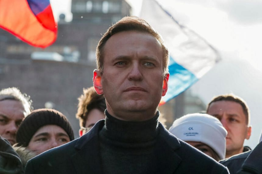"""Toxology tests of Alexei Navalny's blood samples produced """"unequivocal evidence"""" that he had been poisoned."""