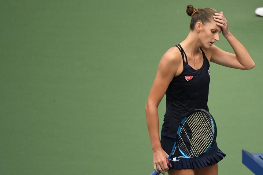 Karolina Pliskova: Garcia was just playing super aggressive, going for her shots