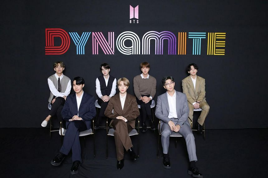 BTS single Dynamite notched 33.9 million US streams and 300,000 sales in its first week.
