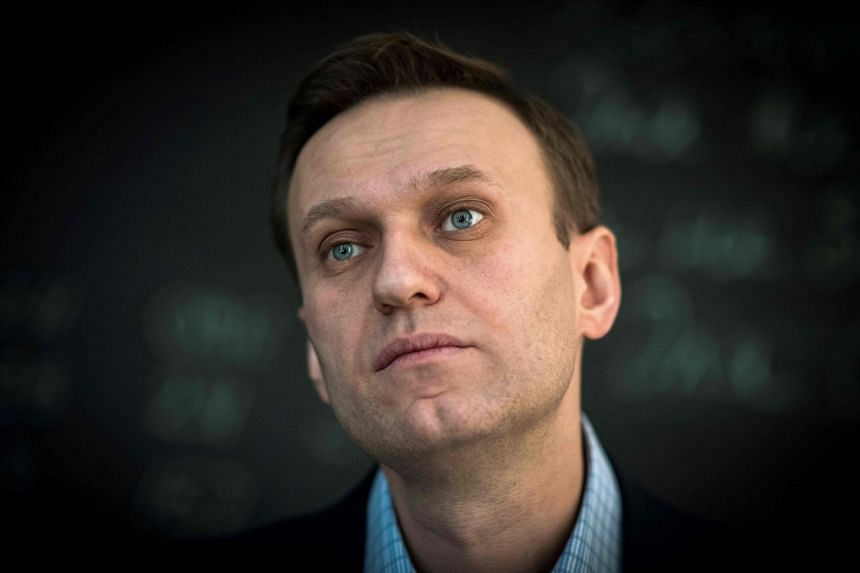Russian opposition leader Alexei Navalny fell ill after boarding a plane in Siberia, with aides saying they suspect he drank a cup of spiked tea at the airport.