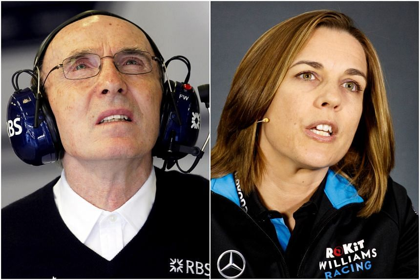 Claire Williams is officially the deputy to her father Frank who no longer attends races and is also leaving.