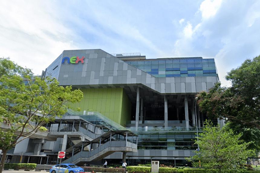 The Nex mall in Serangoon.