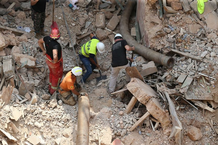 Beirut explosion: More signs of life detected under rubble
