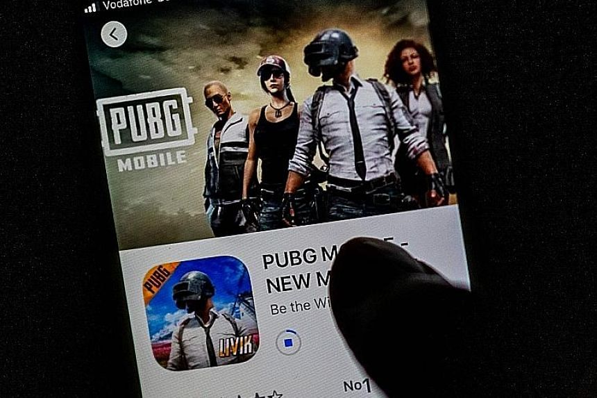 Blockbuster shoot-'em-up game PUBG is one of the apps that have been banned by India, angering the Chinese authorities and dismaying Indian gamers.