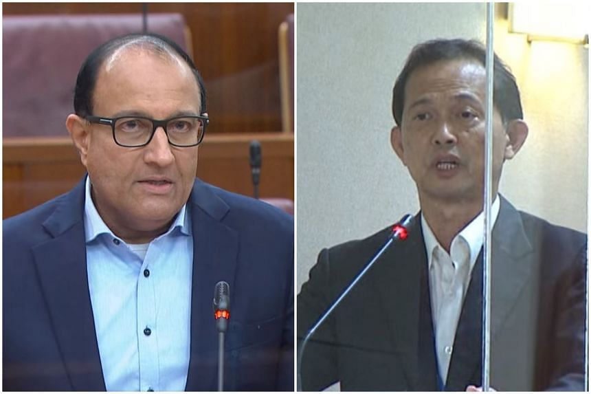 Minister for Communications and Information S. Iswaran sparred with PSP NCMP Leong Mun Wai over his remarks in Parliament concerning DBS Bank.