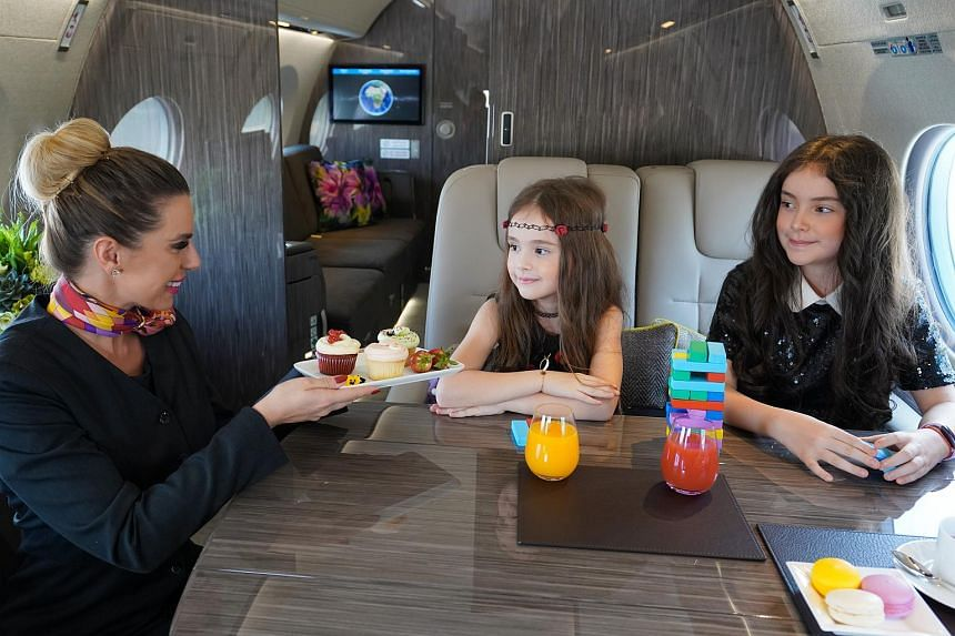 Qatar Airways offers private jets that can be chartered at hourly rates.