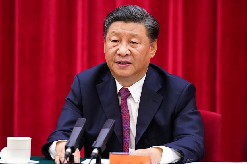 President Xi Jinping will not accede to foreign interference aimed to distort the Chinese Communist Party's history.