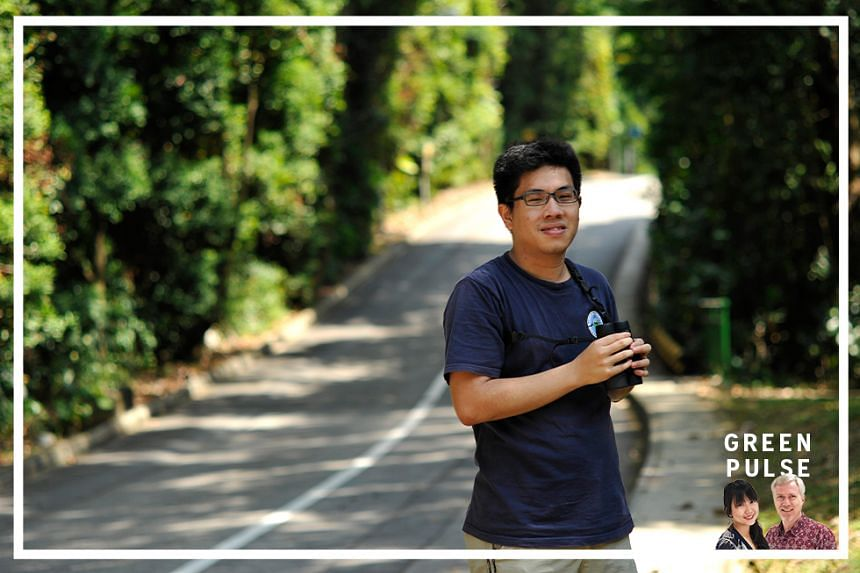 Singapore ornithologist David Tan, who is pursuing a doctoral degree on bird biology at the University of New Mexico in the United States.