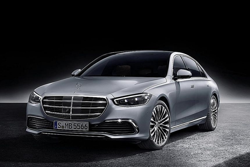 Mercedes-Benz S-class one of the world's most aerodynamic cars