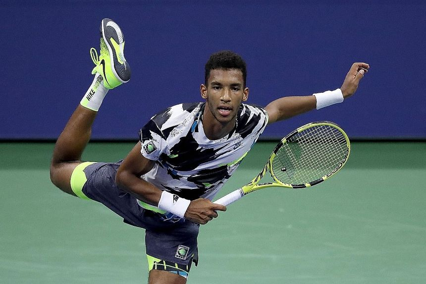 Auger-Aliassime ends Murray's journey in straight sets