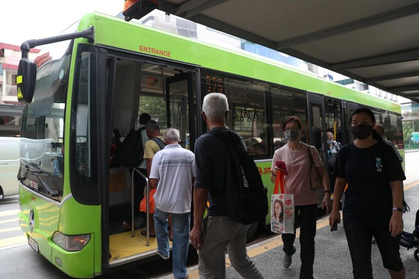 Train and bus ridership had fallen by around 75 per cent during the circuit breaker period from April to June.