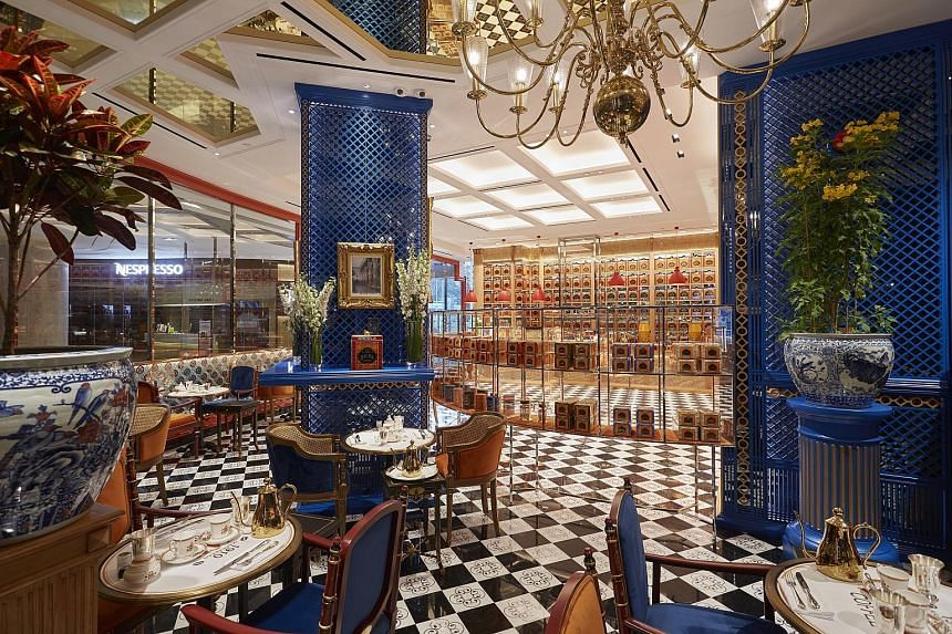 Bacha Coffee at Ion Orchard, which specialises in Arabica coffee, boasts decor inspired by the original cafe in the Dar el Bacha Palace in Marrakesh.