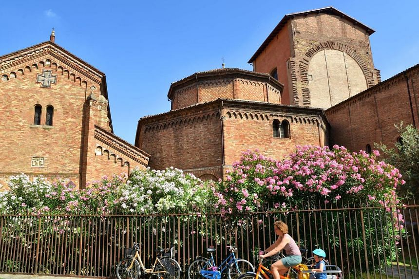 The churches of San Simpliciano in Milan and Santo Stefano in Bologna (above) were places of refuge during the Black Death.