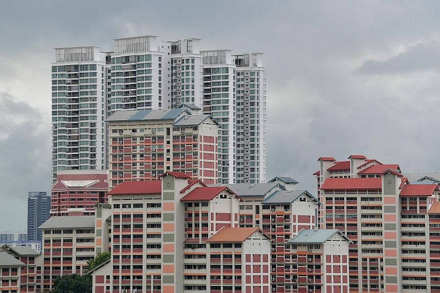 Flats in Bishan, which falls under the central region. In the last five years, there has not been a single five-room BTO flat in the central region launched outside of the Bidadari estate, which is part of Toa Payoh town. ST PHOTO: JOYCE FANG
