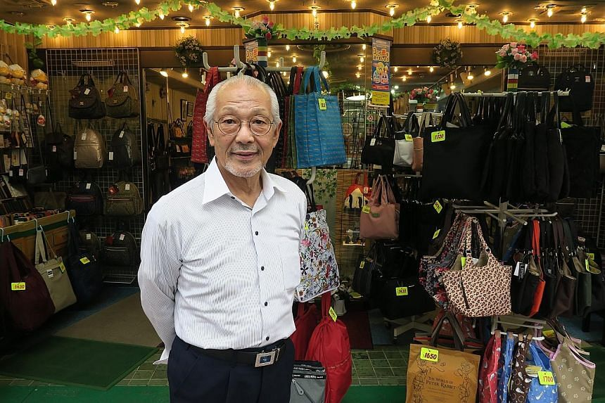 Mr Shigeo Kizaki, who runs a business selling bags dating to 1907, said his sales plunged 90 per cent in the last quarter.