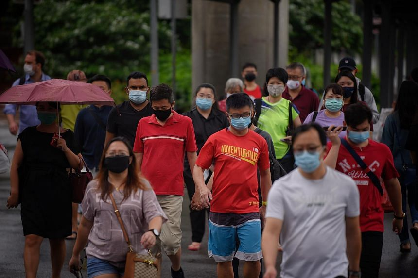 Singapore reported 40 new cases of Covid-19 infection in Singapore, including four cases in the community and 13 imported cases.