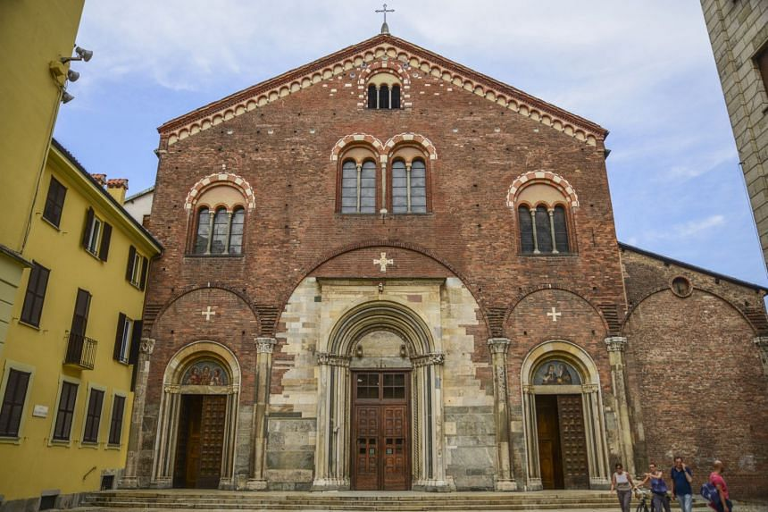The churches of San Simpliciano in Milan (above) and Santo Stefano in Bologna were places of refuge during the Black Death.