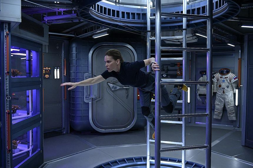 In Away, Hilary Swank's character has the difficult decision of leaving her husband and teenage daughter behind for the three-year journey to outer space.