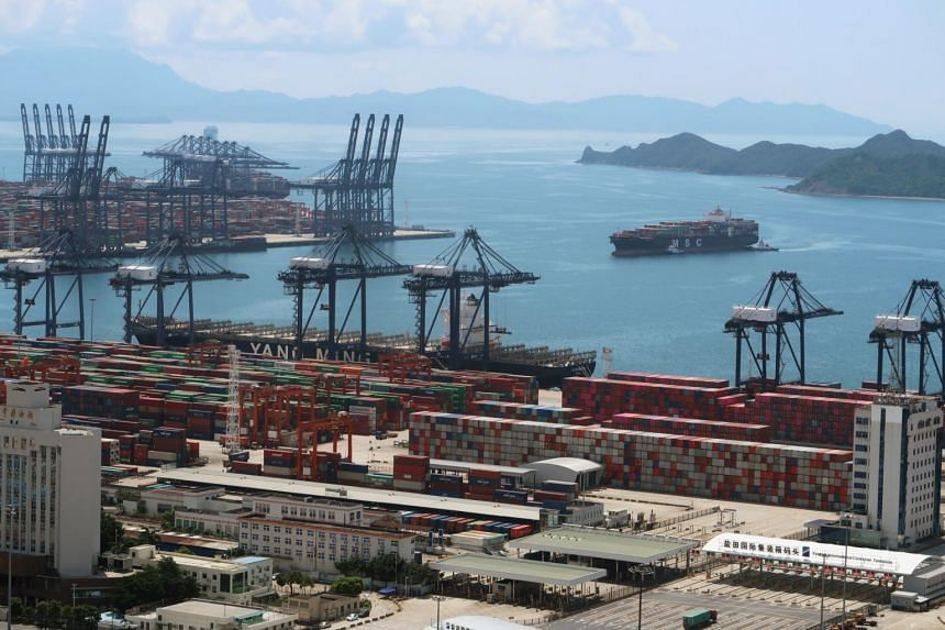 Exports in August rose a solid 9.5 per cent from a year earlier.