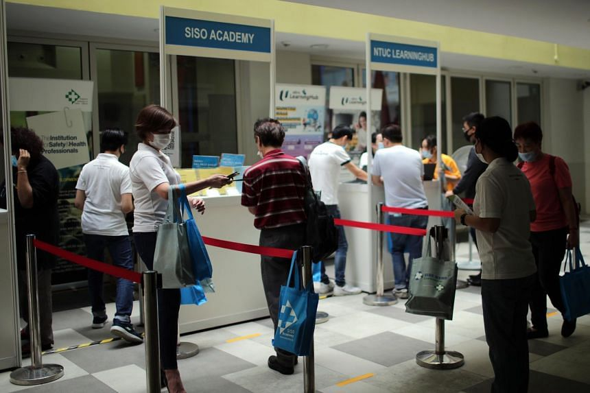 The survey found that 39 per cent of retrenched workers were able to find jobs by June this year.