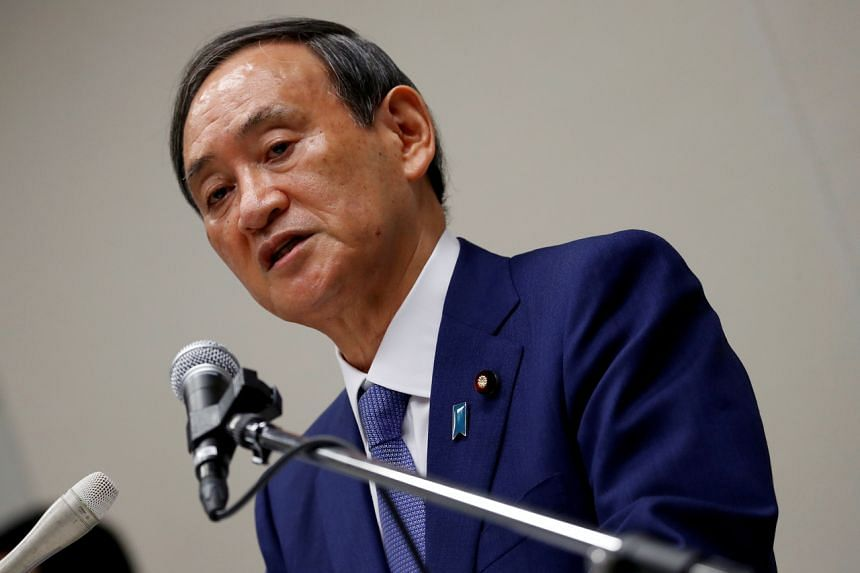 Prime minister hopeful Yoshihide Suga is widely expected to win the Liberal Democratic Party's leadership election on Sept 14, 2020.