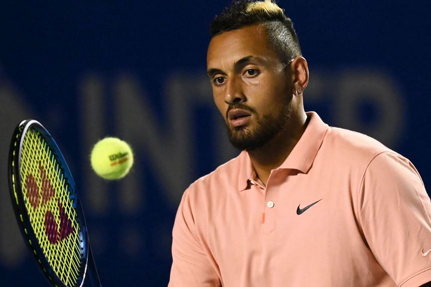 Tennis Nick Kyrgios Trolls Novak Djokovic With Twitter Poll On Ban After Shock Us Open Disqualification Tennis News Top Stories The Straits Times