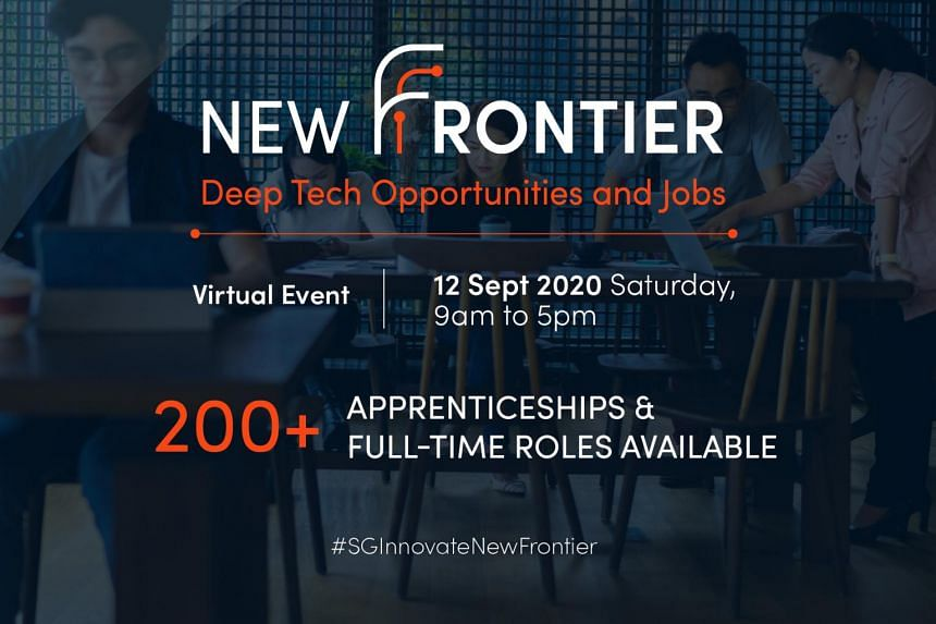 Besides the virtual fair, SGInnovate has also launched a new full-time deep tech traineeship programme, known as Power X.