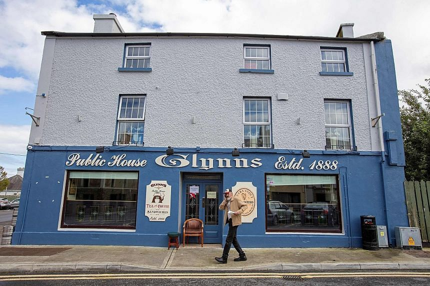 In Dunmore, Ireland, five out of its six village pubs have been shut since March, depriving the community of institutions which act as pillars of rural life.