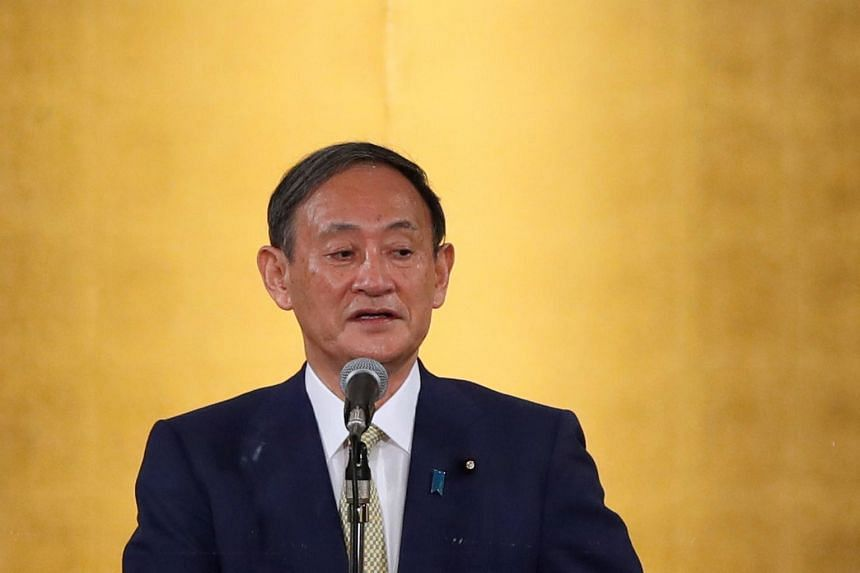 Yoshihide Suga is widely expected to win the ruling Liberal Democratic Party's leadership race.