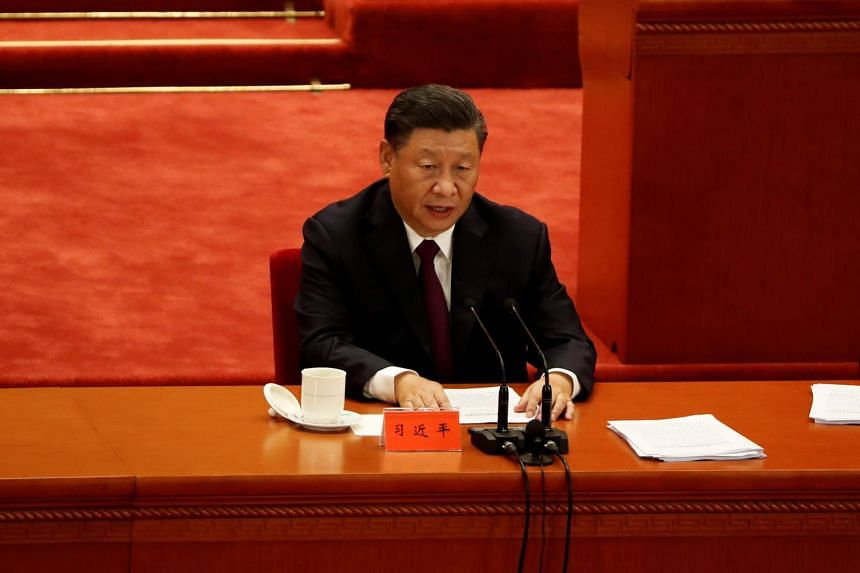 Chinese President Xi Jinping said China is the first major economy to return to growth during the pandemic.
