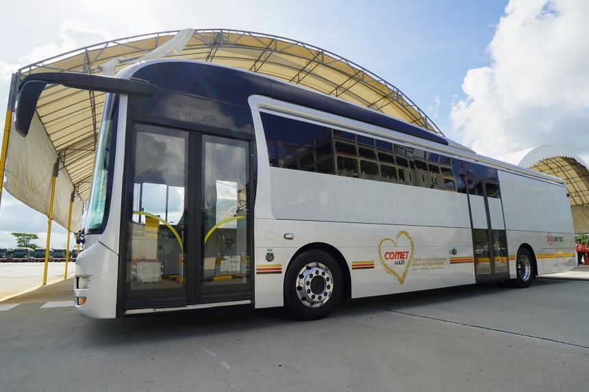 Currently, there are 51 Comet vehicles in varying sizes, which are now able to ferry passengers.