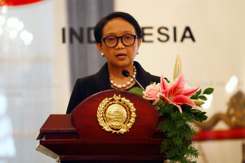 Indonesia's Foreign Minister Retno Marsudi said Asean must remain steadfastly neutral and united.