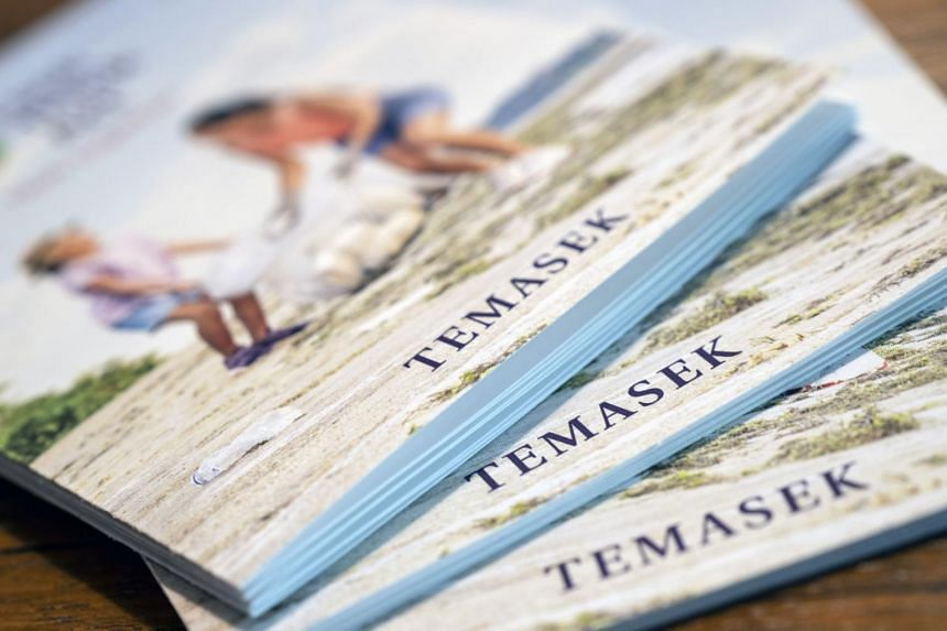 Temasek's one-year return for shareholders came in at -2.28 per cent, compared with 1.49 per cent the previous year.