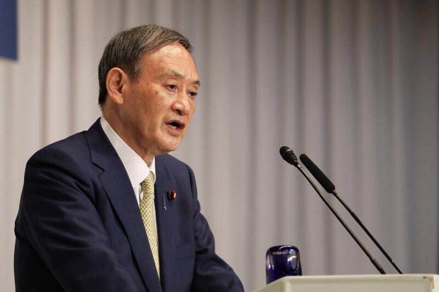 Japan's Chief Cabinet Secretary Yoshihide Suga has won the backing of more than 70 per cent of the LDP's lawmakers.