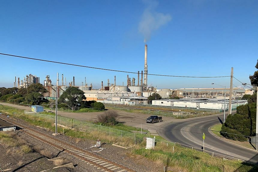 ExxonMobil's Altona refinery in Melbourne, Australia. After setbacks last decade, the top United States oil company sought to return to its past prominence with big bets on global refining and plastics, US shale oilfields and pipelines, but it may no