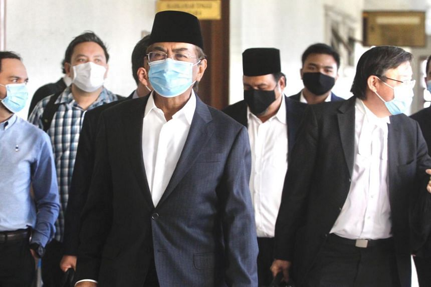 The Court of Appeal in Putrajaya had rejected an appeal filed by Tan Sri Musa (centre) and 32 other assemblymen.