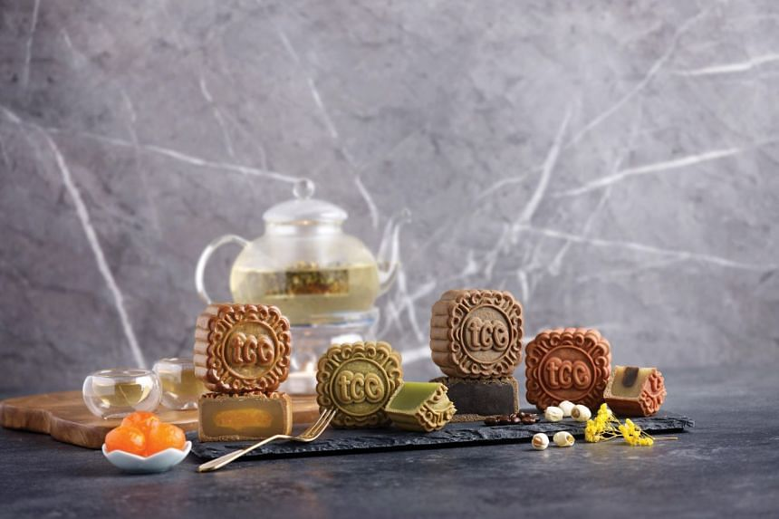 Get a load of flavours from tcc's various mooncake collections. PHOTO: THE CONNOISSEUR CONCERTO