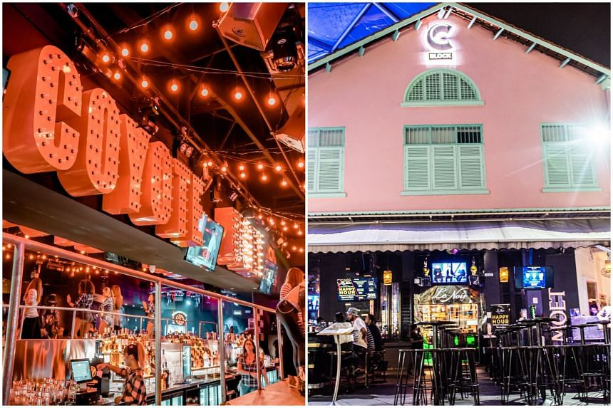 Bars Coyote Ugly and Le Noir will be suspended from Sept 10-19 for failing to comply with safe distancing rules.