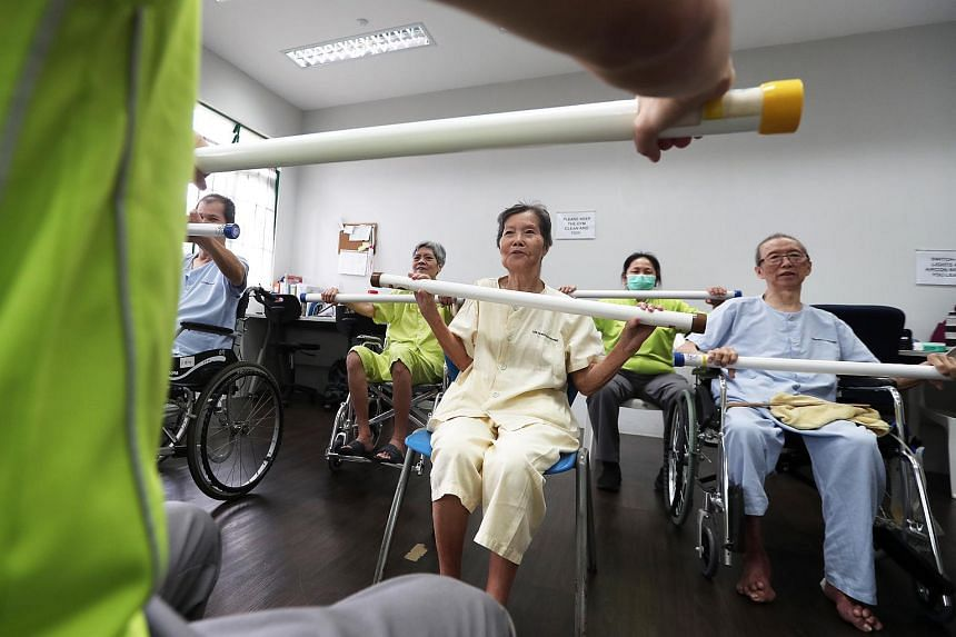 Small group activities of up to five people may now resume in eldercare facilities such as nursing homes and senior care centres.