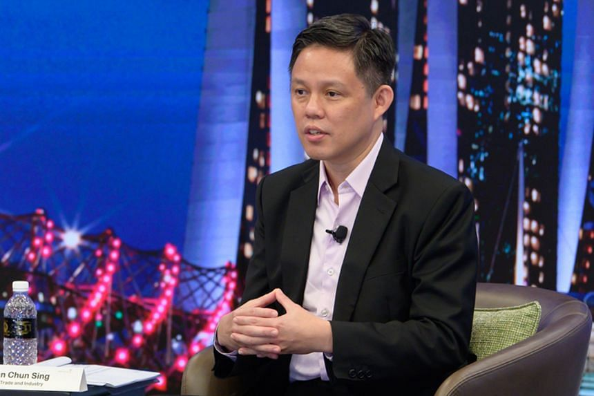 TRADE AND INDUSTRY MINISTER CHAN CHUN SING