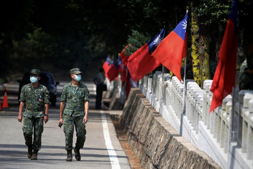 Taiwan's armed forces are able to respond quickly and appropriately to such movements.